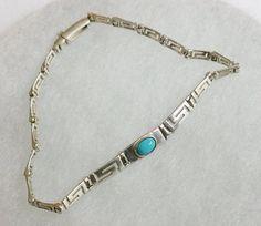 Armband 925 Silber Silberarmband mit Türkis von Schmuckbaron