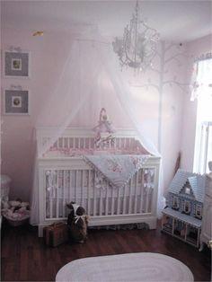 Dreamy baby girl nursery