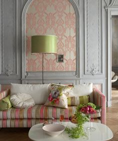 Romantic style furnishings and fabric from Designers Guild available through www.janehalldesig...