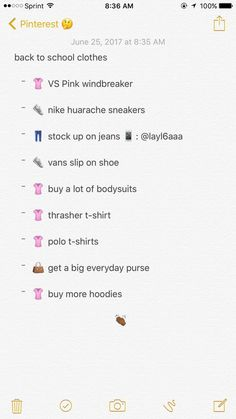 back to school clothes School Outfits Highschool, Back To School Outfits, Girl Life Hacks, Girls Life, Vs Pink Windbreaker, Shopping Websites, Shopping Hacks, Vans Slip On Shoes, Buy Shoes