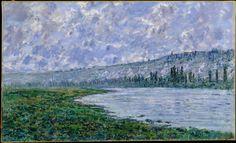Claude Monet - The Seine at Vétheuil, 1880. Oil on canvas