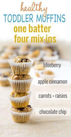 Toddler Muffins Breakfast Ideas | The Worktop
