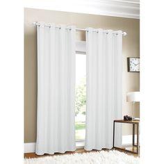 Luxury Linen Grommet Top Curtain Panel