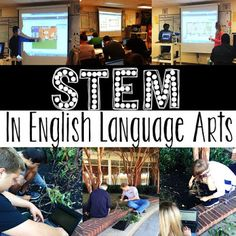 """It wasn't until my Assistant Director of Schools tweeted a picture I sent out with the caption, """"Mrs. Bible using STEM in ELA,"""" that I realized I was even doing STEM at all. I just thought I was doing Stem High School, Middle School Ela, Middle School English, 8th Grade Ela, 3rd Grade Writing, Sixth Grade, Steam Education, Elementary Education, English Language Arts"""