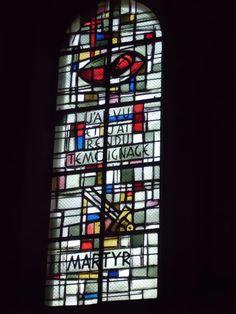 Sacre Coeur, stained glass windows, Paris