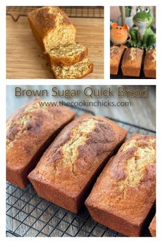 BEST EVER Brown Sugar Bread is a quick bread that comes together using only 7 ingredients! Perfect for breakfast, snack, or anytime of the day!