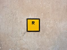 Minimalist photography is the counterpart of the minimalism style of arts in the century. Photographers employs this style of taking photographs Negative Space Photography, Concrete Wall, Cement, Letter Symbols, Letter Wall, Cool Lettering, Minimalist Photography, Cool Walls