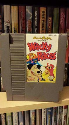 Wacky Races NES