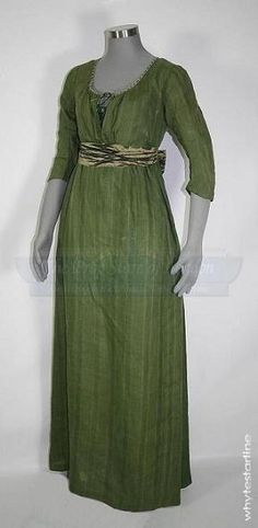 Pride & Prejudice (2005), Elizabeth Bennett's (Keira Knightley) Green Dress