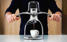 With a beautiful design and the fact that it makes coffee, this ROK Presso really couldn't be any better