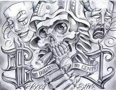 Chicano Tattoos By Gatunoman Tatuajes Chicanos Mr