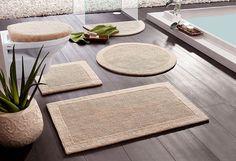 Badematte, Ecorepublic Home, »Kapra«, beidseitig verwendbar, Bio Baumwolle