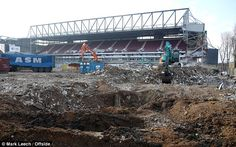 Most of the stadium has been demolished, with work to continue  in the coming months