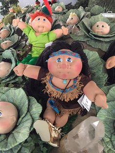 Handmade, special Limited Edition BabyLand Sidekick babies open their arms and giggle are in the Cabbage Patch. They were ready to embrace  parents at 2016 Spring Event held in May.