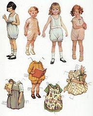.very cute paper dolls