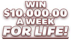 Win $10,000.00 a Week for Life. Enter this PCH sweepstakes for free. Winning on Nov. 25th could mean cash prize checks every week for the rest of your life.