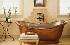 Coper bathtub