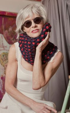 DIY Knit Wool Snood Scarf | Broadway Scarf by We Are Knitters, DIY Knitting Kit