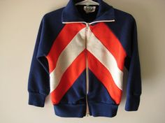 1vintage striped track top