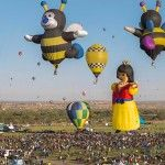 Albuquerque Balloon Festival Timelapse like a party in the sky!