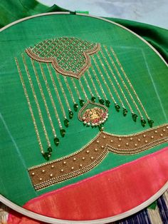 Cutwork Blouse Designs, Embroidery Neck Designs, Bead Embroidery Patterns, Hand Work Embroidery, Fancy Blouse Designs, Dress Neck Designs, Bridal Blouse Designs, Sleeve Designs, Hand Work Design