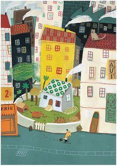 El futuro de los pequeños, texto Elena Ferro para Kireei, ilustración de delphine durand