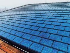 Corning Willow Glass Used in Photovoltaic Shingles May Reduces Price Of Solar Energy. Us department of energies national renewable energy lab has combined willow glass with CdTe Photovoltaic to make cheaper solar roof shingles. Solar Energy System, Solar Power, Wind Power, Eco Energie, Alternative Energie, Solar Shingles, Roofing Shingles, Tin Roofing, Steel Roofing