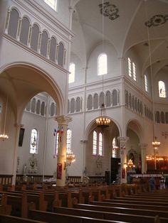 Inside Saint Mary's church
