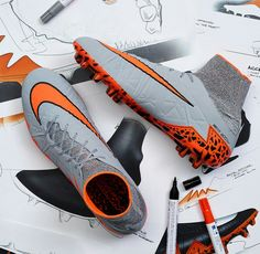 Designed for deception. Get the II now, available exclusively in the Nike Football App. Best Soccer Shoes, Soccer Boots, Football Shoes, Nike Football, Soccer Cleats, Football Workouts, Cr7 Ronaldo, Nike Boots, Shoe Pattern