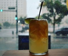Dark 'N Stormy. One of my favorite photos from our Instagram account. #cocktails #drinks #HappyHour #food #sun #lunch #bar #London