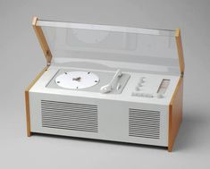 Audio equipment by Dieter Rams for Braun (1956-1963)