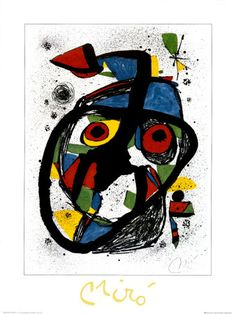 Joan Miro Carota 1978