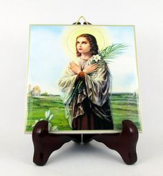 Hey, I found this really awesome Etsy listing at https://www.etsy.com/listing/200731988/saint-maria-goretti-catholic-favor-art