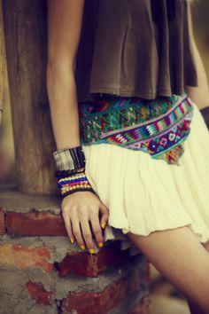 belt and cuffs