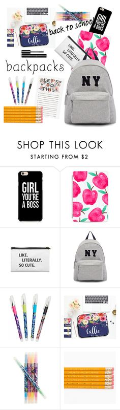 """Back to school backpacks!!"" by sweet-fashionista ❤ liked on Polyvore featuring Casetify, Joshua's, Vera Bradley, Chanel, backpacks, contestentry and PVStyleInsiderContest"
