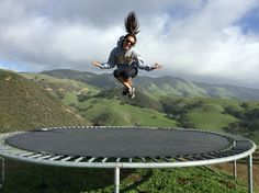 Serenity Swing and Tranquility Tampoline in San Luis Obispo, California
