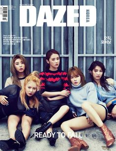 4minute // Dazed & Confused Korea