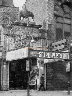 The Elephant and Castle Theatre, New Kent Road, Southwark, London Victorian London, Vintage London, Old London, South London, London Life, Victorian Era, Elephant And Castle, London Pictures, London Photos