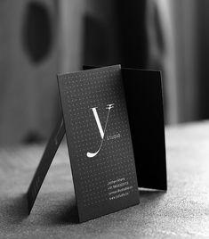 Unique Business Card, Y Studio #BusinessCards #Design (http://www.pinterest.com/aldenchong/)