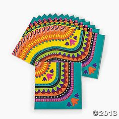 Bright Fiesta Party Supplies - Oriental Trading