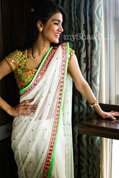 myShaadi.in > Saree by Arpita Mehta http://arpitamehta.in/