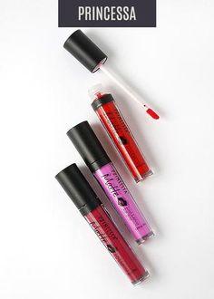 Princessa Matte Liquid Lipstick- Color Set 1
