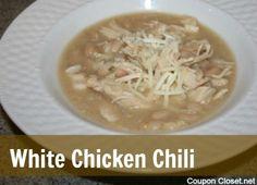 Crockpot White Chicken Chili Recipe