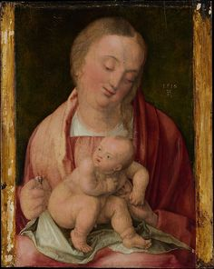 Albrecht Dürer (German, Nuremberg 1471–1528). The Metropolitan Museum of Art, New York. Virgin and Child, 1516. Gift of J. Pierpont Morgan, 1917 (17.190.5)