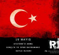 19 Mayıs Atatürk'ü Anma Gençlik ve Spor Bayramımız kutlu olsun !
