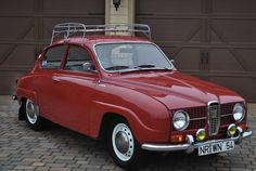 Saab 96 V4, from 1968, my first car.