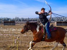 Horseback Archer: Mounted archery in Bend, Oregon. Hungarian style horseback archery at Cascade International Mounted Archery Center. Mounted Archery, Oregon, Horses, Animals, Style, Artists, Fotografia, Arch, Swag