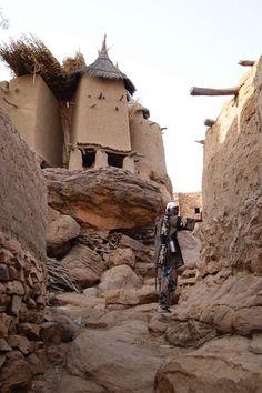 Mali au pays Dogon le village Yendouma