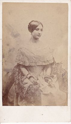 1840s French Lady