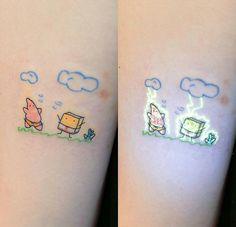 Behind The Scenes By arts_promote Bestie Tattoo, Bff Tattoos, Dream Tattoos, Friend Tattoos, Mini Tattoos, Future Tattoos, Body Art Tattoos, Small Tattoos, Cool Tattoos